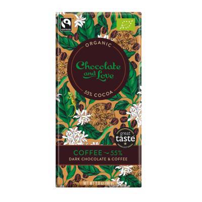 17001 - Chocolate and Love coffee 55% 80 gram