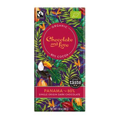 17006 - Chocolate and Love panama 80% 80 gram