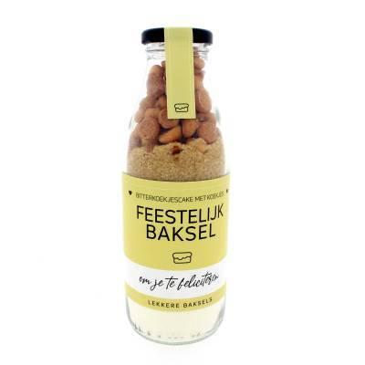 12319 - Concept Unie lekkere baksels - feestelijk 380 gram
