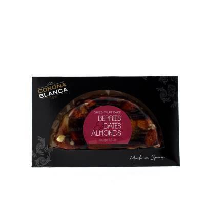 17603 - Corona Blanca dadel cranberry amandelbr. half maantje 100 gram