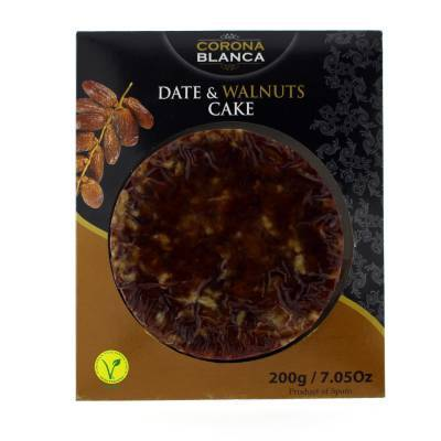 17605 - Corona Blanca dadel walnootbrood rond 200 gram