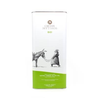 1963 - Cretan Mythos extra vergine olijfolie blik 5000 ml