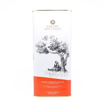 1975 - Cretan Mythos extra vergine olijfolie blik 5000 ml