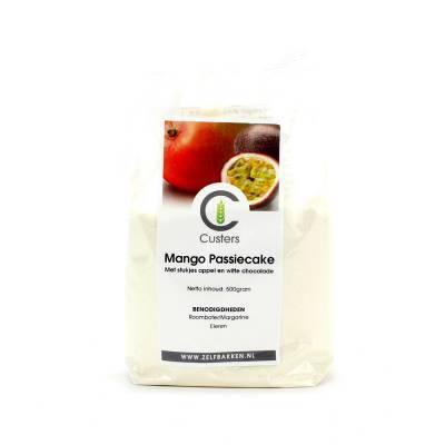 12060 - Custers mango passiecake 500 gram