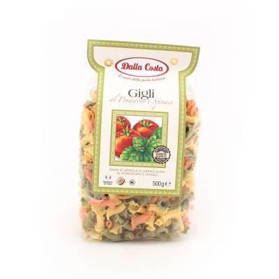 8330 - Dalla Costa gigli tomaat spinazie 500 gram