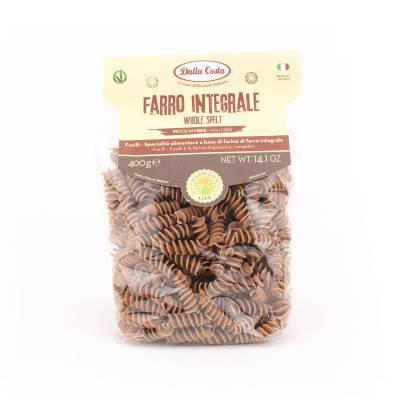 8593 - Dalla Costa fusilli volkoren speltmeel 400 gram