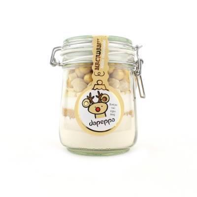 12357 - Dapeppa koekjespot macadamia met witte chocolade 505 gram