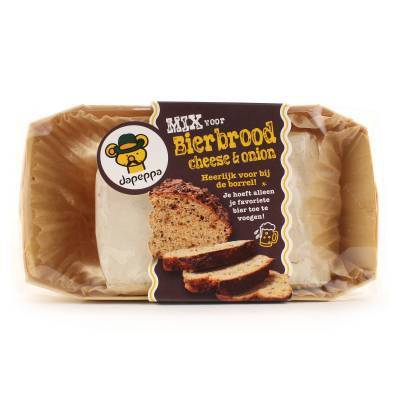 12371 - Dapeppa bierbrood cheese & onion 450 gram