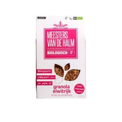 6573 - De Halm granola eiwitrijk 350 gram