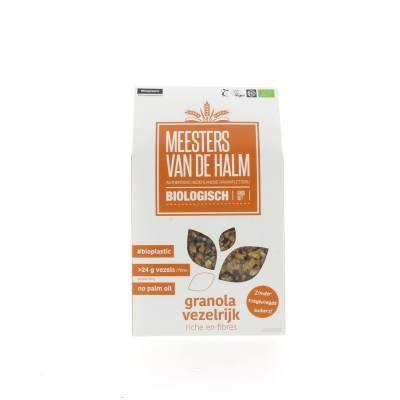 6574 - De Halm granola vezelrijk 350 gram