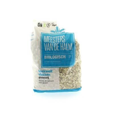 6590 - De Halm boekweitvlokken glutenvrij 500 gram