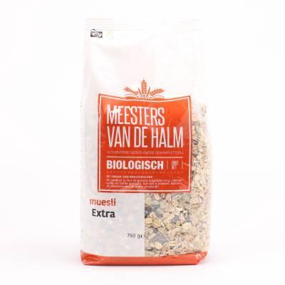 6610 - De Halm muesli extra 750 gram