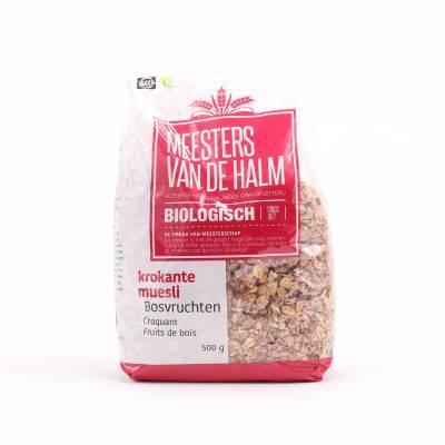 6622 - De Halm krokante muesli bosvruchten 600 gram