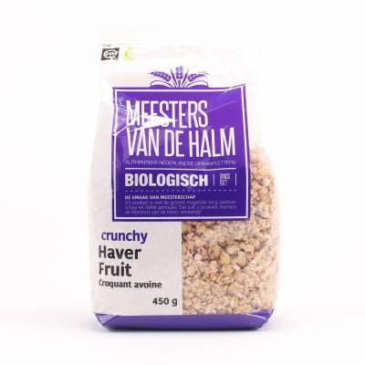 6634 - De Halm havercrunchy fruit 450 gram