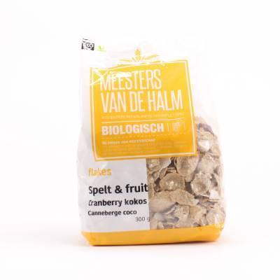 6640 - De Halm flakes & crunchy kokos 450 gram