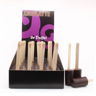 1402 - De Truffel xocolatte puur display 32 stuks gram