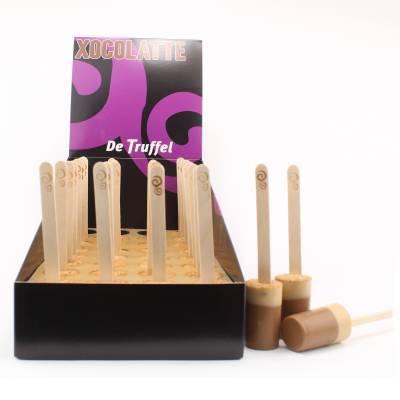 1404 - De Truffel xocolatte anijs display 32 stuks gram