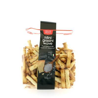 7854 - Deli Di Paolo mini grissini parmezaanse kaas & zeezout 150 gram