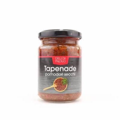 8521 - Deli Di Paolo tapenade pomodori secchi 140 gram