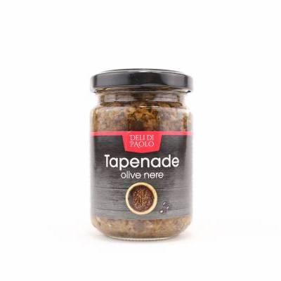 8522 - Deli Di Paolo tapenade olive nere 140 gram