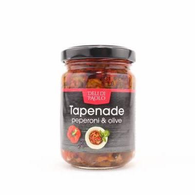 8524 - Deli Di Paolo tapenade peperoni & olive 140 gram