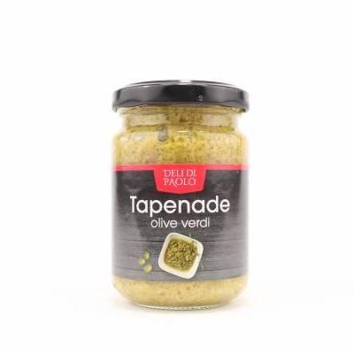 8525 - Deli Di Paolo tapenade olive verdi 140 gram