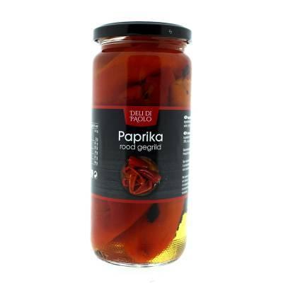 7813 - Deli Di Paolo paprika gegrild rood 450 gram