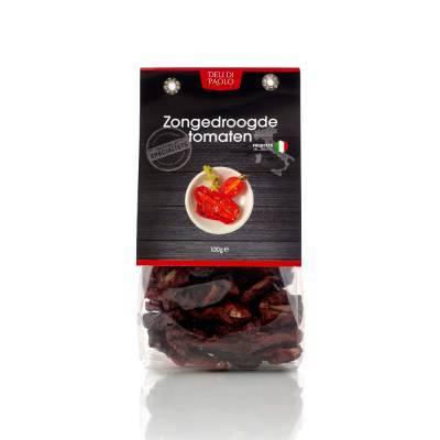 7818 - Deli Di Paolo zongedroogde tomaten 100 gram