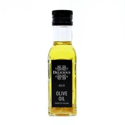 3225 - Delicious Food and Gourmet knoflook olie - met olijfolie 125 ml