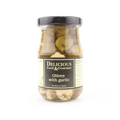 3228 - Delicious Food and Gourmet knoflook olive mix 212 ml