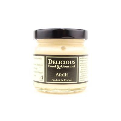 3237 - Delicious Food and Gourmet allioli - knoflooksaus 250 ml