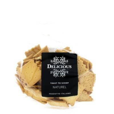 3251 - Delicious Food and Gourmet toast naturel crunchy 200 gram