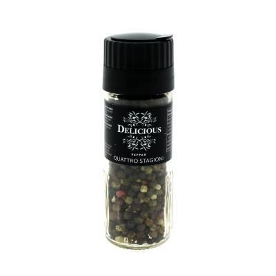 3259 - Delicious Food and Gourmet peper quattro stagioni 50 gram