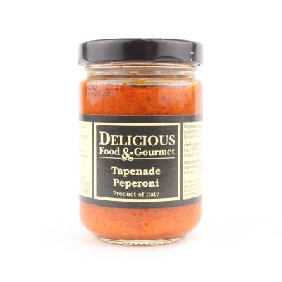 3268 - Delicious Food and Gourmet tapenade peperoni 156 ml