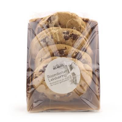 19682 - Des Noots roomboter lekkernij choco chip cookie 207 gram