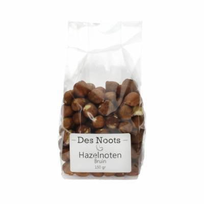 3031 - Des Noots bruine hazelnoten 150 gram
