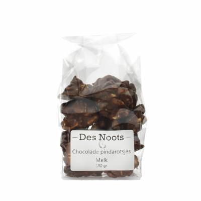3043 - Des Noots chocolade pindarotsjes melk 150 gram