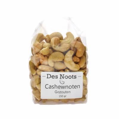 3062 - Des Noots cashewnoten gezouten 150 gram