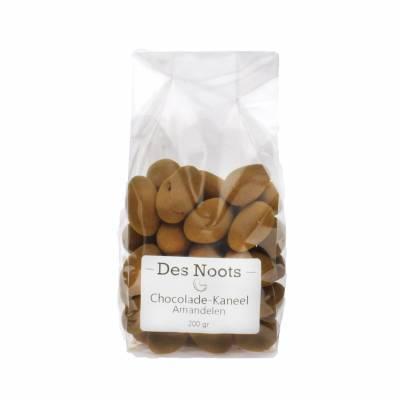 3071 - Des Noots choco kaneelamandelen 200 gram