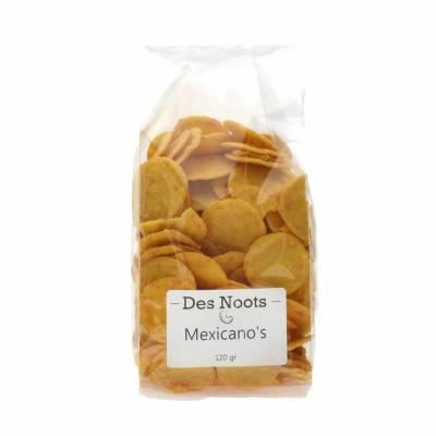 3072 - Des Noots mexicano`s 120 gram