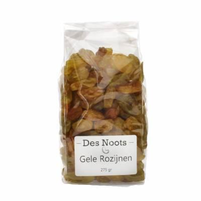 3091 - Des Noots gele rozijnen 275 gram