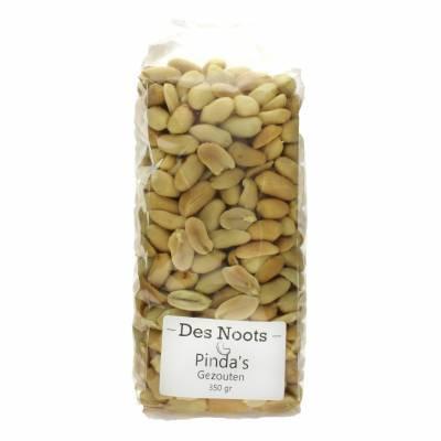 3093 - Des Noots pinda`s gezouten 350 gram