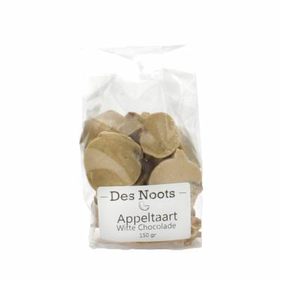 3106 - Des Noots witte chocolade appeltaartje 150 gram
