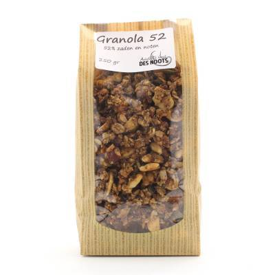 11510 - Des Noots granola 52%(premium) 250 gram