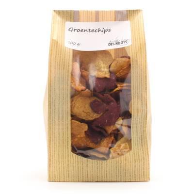 3016 - Des Noots groentechips 100 gram
