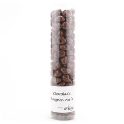 3024K - Des Noots chocolade rozijnen koker 300 gram