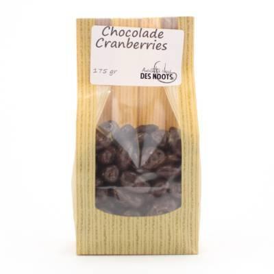 3038 - Des Noots chocolade cranberries 175 gram