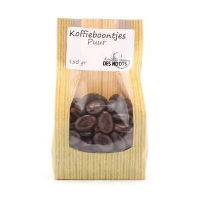 3039 - Des Noots koffieboontjes puur 150 gram