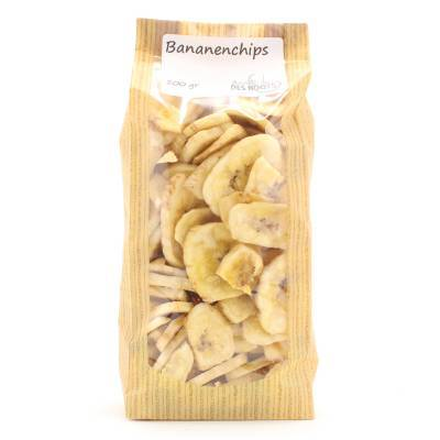3050 - Des Noots bananenchips 200 gram