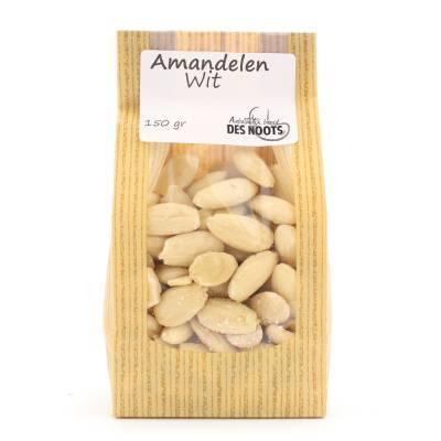3061 - Des Noots amandelen wit 150 gram